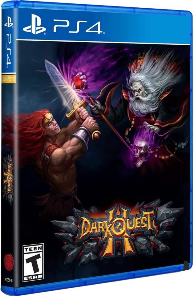dark quest ii physical release limited run games ps4 cover limitedgamenews.com
