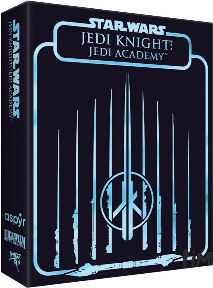 star wars jedi knight jedi academy physical release premium edition limited run games ps4 nintendo switch cover limitedgamenews.com
