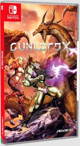gunlord x physical release standard edition ngdev nintendo switch cover limitedgamenews.com