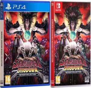 samurai shodown neo geo collection physical release standard edition ps4 nintendo switch cover limitedgamenews.com