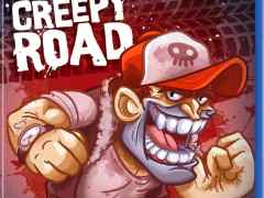 creepy road physical release red art games ps4 cover limitedgamenews.com