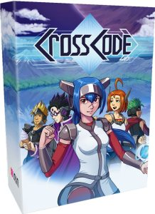 crosscode physical release collectors edition physical release inin games ps4 nintendo switch cover limitedgamenews.com