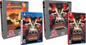 samurai shodown neogeo collection classic edition physical release limited run games ps4 nintendo switch cover limitedgamenews.com