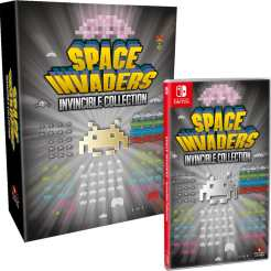 space invaders invincible collection collectors edition physical release strictly limited games nintendo switch cover limitedgamenews.com