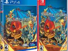 wizard of legend physical release limited run games ps4 nintendo switch cover limitedgamenews.com
