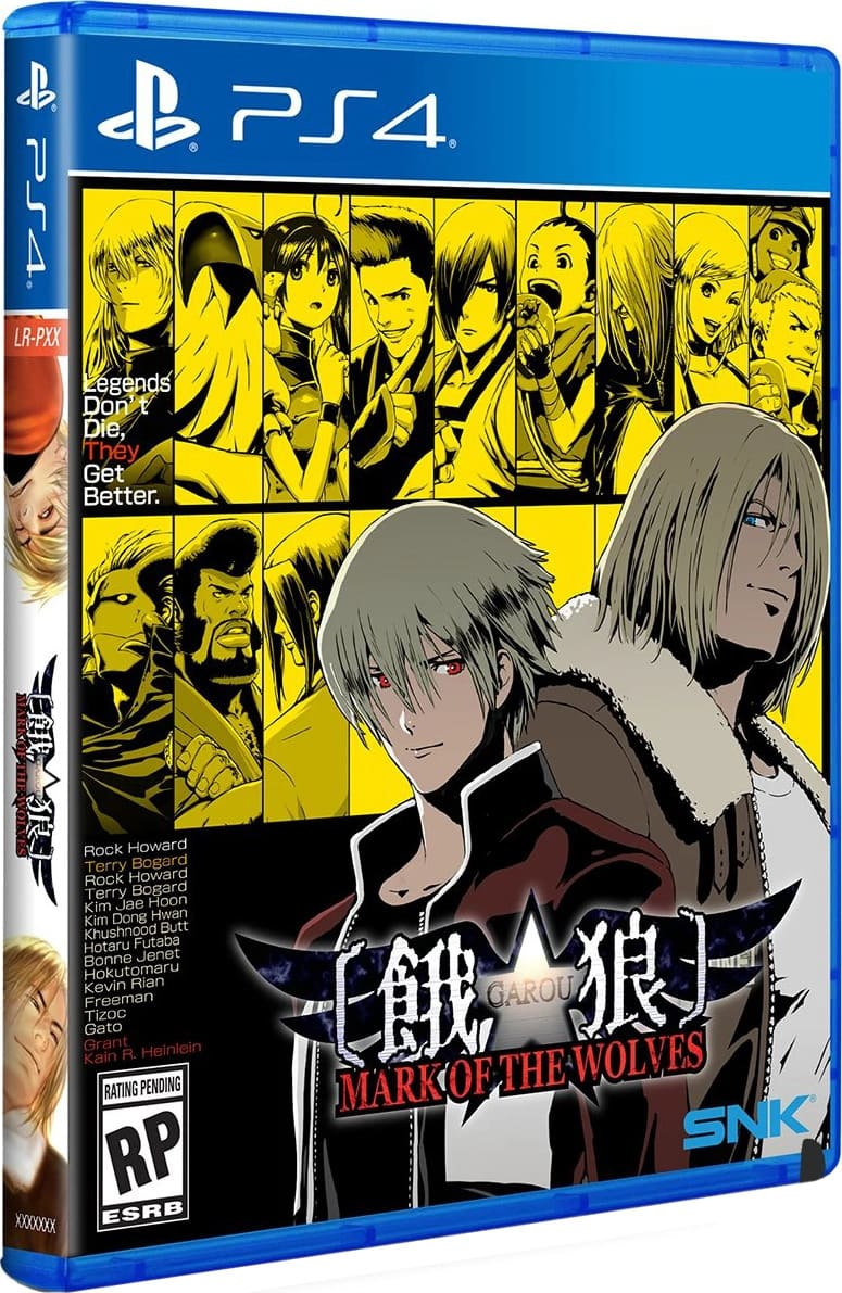 Garou Mark Of The Wolves Lrg Playstation 4 Limited Game News View and download this 1450x1800 rock howard image rock howard   tumblr. garou mark of the wolves lrg