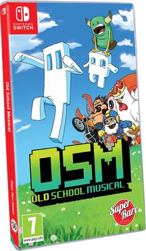 old school musical physical release super rare games nintendo switch cover limitedgamenews.com