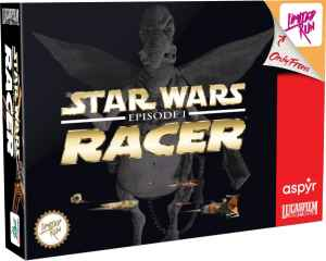 star wars episode i racer physical release limited run games classic edition ps4 nintendo switch cover limitedgamenews.com
