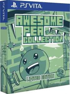 awesome pea collection physical release limited edition eastasiasoft play exclusives playstation vita cover www.limitedgamenews.com