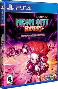 neon city riders retail release limited run games ps4 cover www.limitedgamenews.com