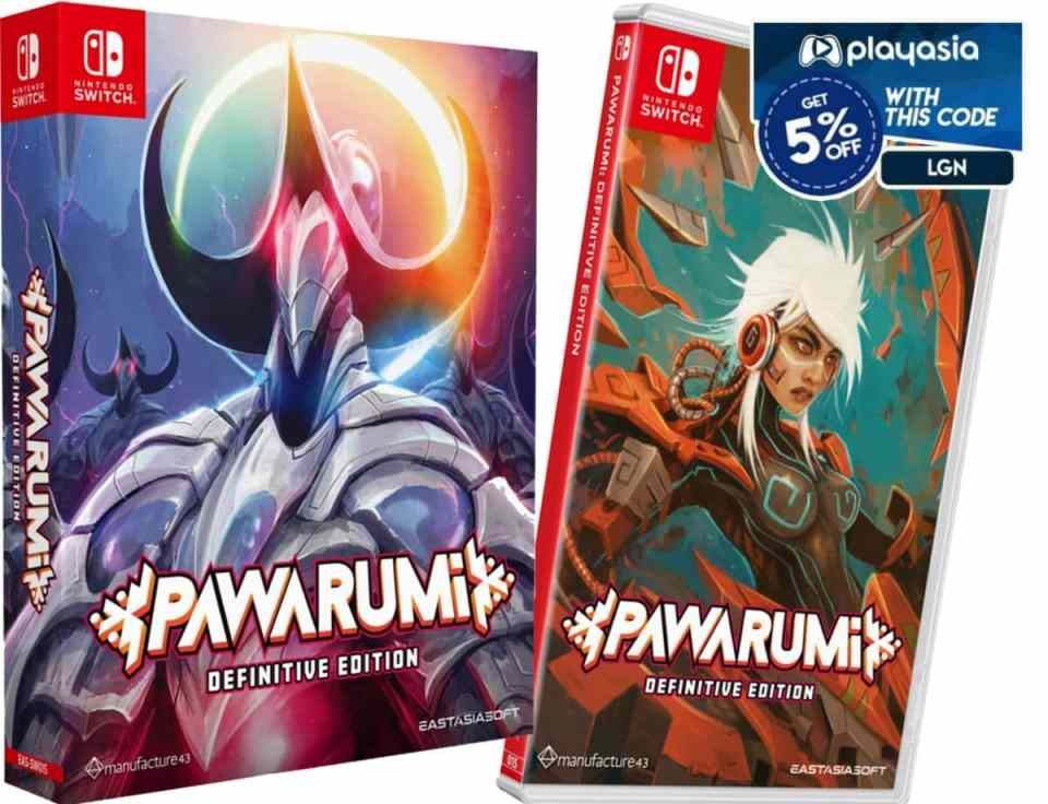 pawarumi definitive edition retail release eastasiasoft limited edition standard edition nintendo switch cover www.limitedgamenews.com promo