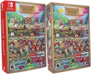 stardew valley retail fangamer collectors edition nintendo switch cover www.limitedgamenews.com
