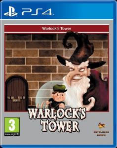 warlock's tower retail red art games ps4 cover www.limitedgamenews.com
