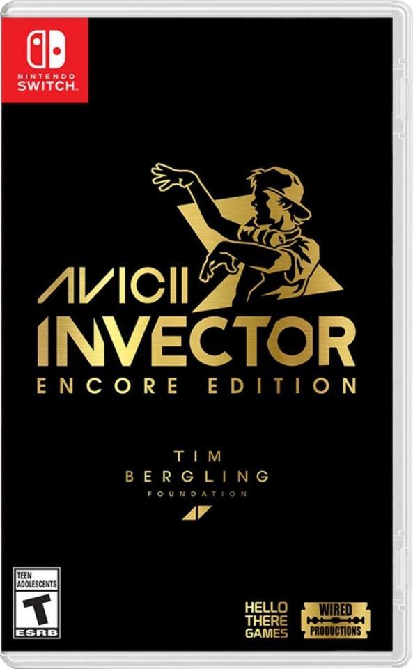 avicii invector encore edition retail release wired productions nintendo switch cover www.limitedgamenews.com