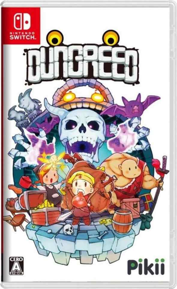 dungreed retail release asia multi-language nintendo switch cover www.limitedgamenews.com