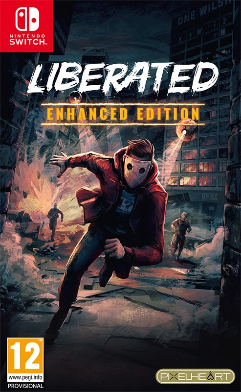 liberated enhanced edition retail release pixelheart nintendo switch cover www.limitedgamenews.com