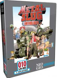 metal slug anthology retail release classic edition limited run games playstation 4 cover www.limitedgamenews.com