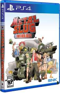 metal slug anthology retail release standard edition limited run games playstation 4 cover www.limitedgamenews.com