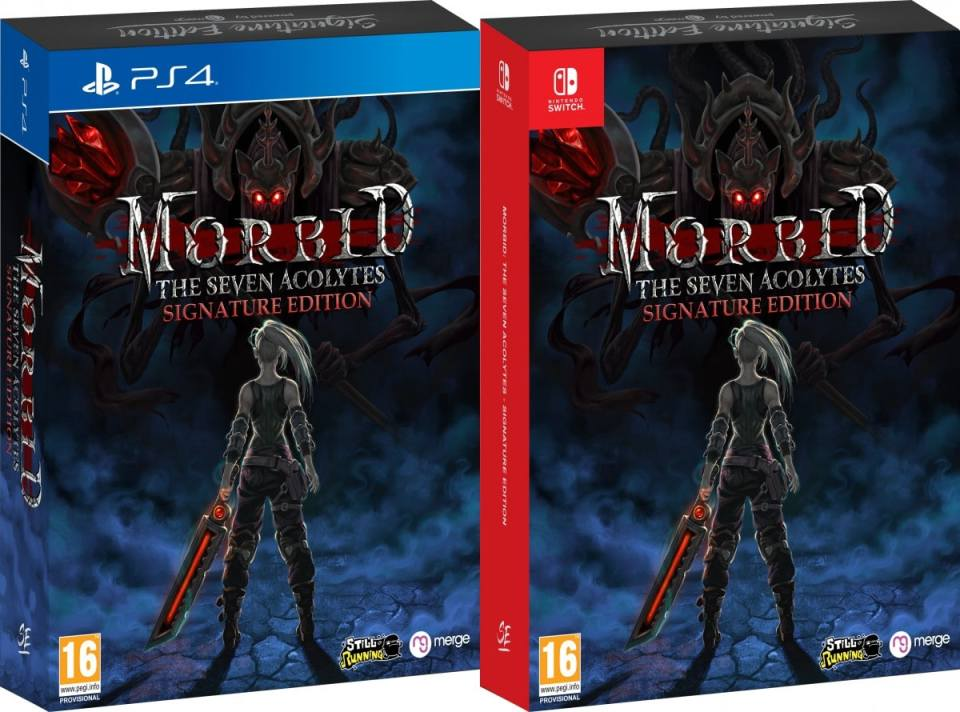 morbid the seven acolytes retail release signature edition games ps4 nintendo switch cover www.limitedgamenews.com