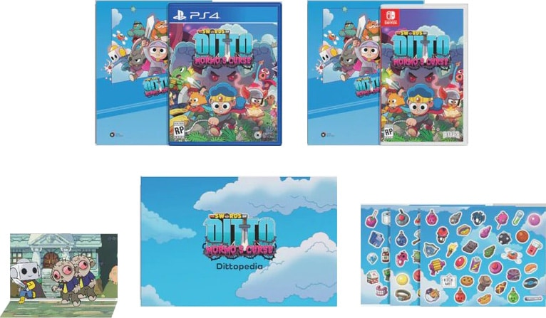 the swords of ditto retail special reserve games signature edition playstation 4 nintendo switch cover www.limitedgamenews.com