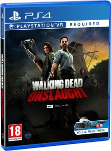 the walking dead retail perp games playstation vr cover www.limitedgamenews.com