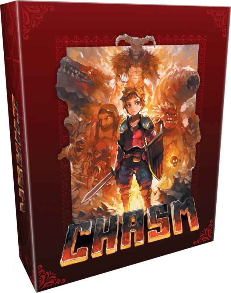 chasm retail limited run games classic edition playstation 4 cover www.limitedgamenews.com