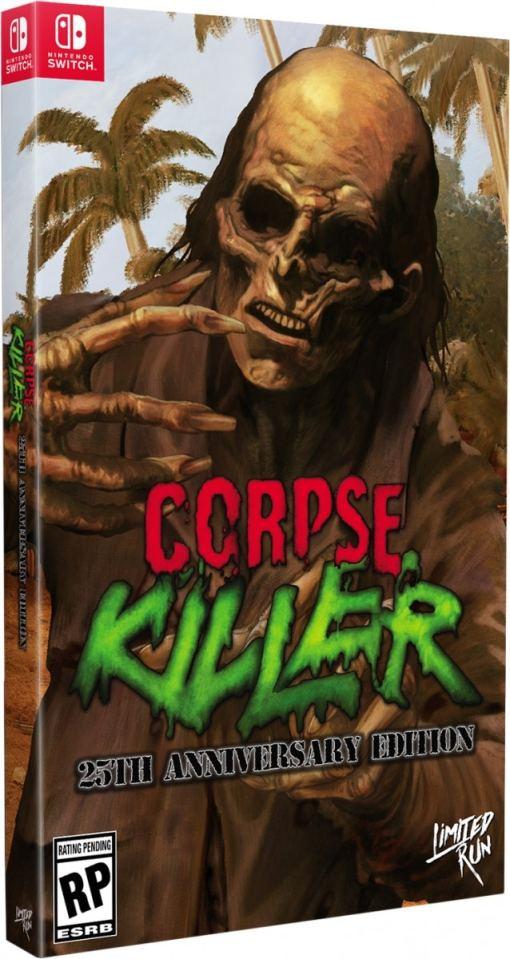 corpse killer collectors edition retail limited run games nintendo switch www.limitedgamenews.com