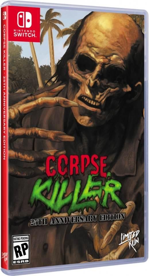 corpse killer standard edition retail limited run games nintendo switch www.limitedgamenews.com