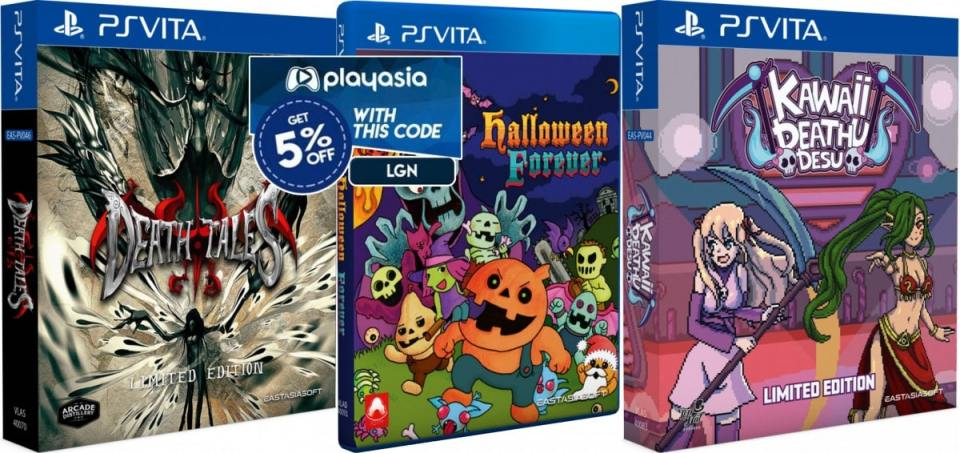death tales halloween forever kawaii deathu desu limited edition retail asia multi-language halloween bundle eastasiasoft playstation vita cover www.limitedgamenews.com play-asia coupon