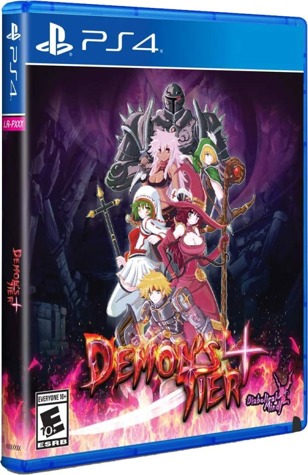 demons tier+ retail limited run games playstation 4 cover www.limitedgamenews.com