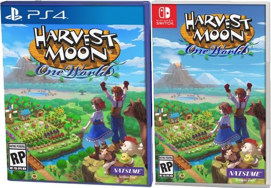 harvest moon one world retail nis america nintendo switch playstation 4 cover www.limitedgamenews.com