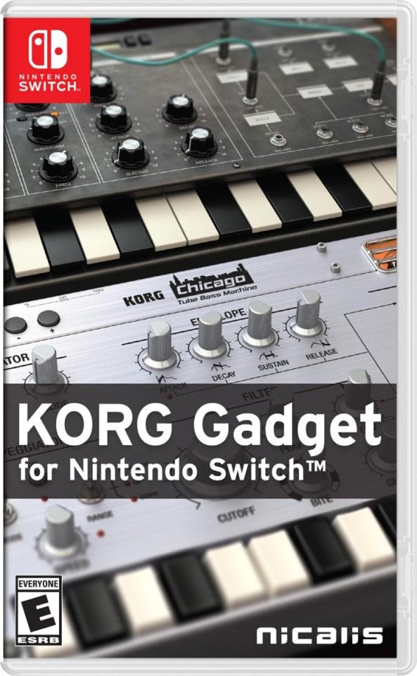 korg gadget retail nicalis nintendo switch cover www.limitedgamenews.com