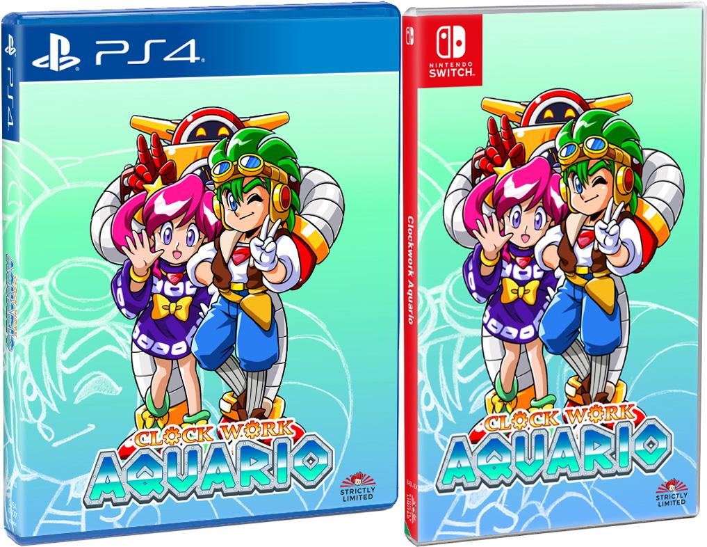 Clockwork Aquario   Nintendo Switch & PlayStation 4 - Limited Game News