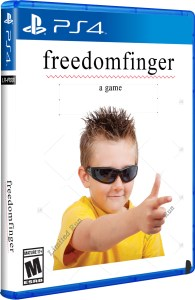 freedom finger physical retail release limited run games playstation 4 cover www.limitedgamenews.com
