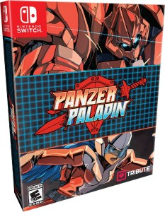 panzer paladin collectors edition physical retail release tribute games nintendo switch cover www.limitedgamenews.com