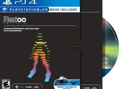rez infinite eco-forward edition physical retail release iam8bit playstation 4 cover www.limitedgamenews.com