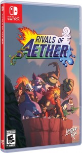 rivals of aether physical retail release limited run games standard edition nintendo switch cover www.limitedgamenews.com