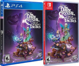 the dark crystal age of resistance tactics standard edition physical retail release limited run games playstation 4 nintendo switch cover www.limitedgamenews.com