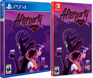 afterparty physical retail release limited run games playstation 4 nintendo switch cover www.limitedgamenews.com