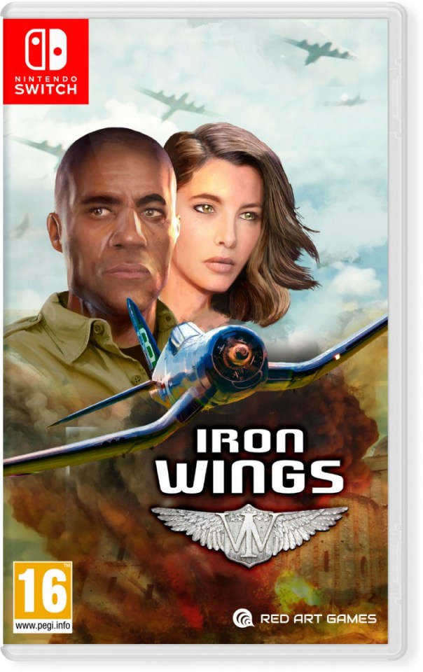 iron wings physical retail release red art games nintendo switch cover www.limitedgamenews.com