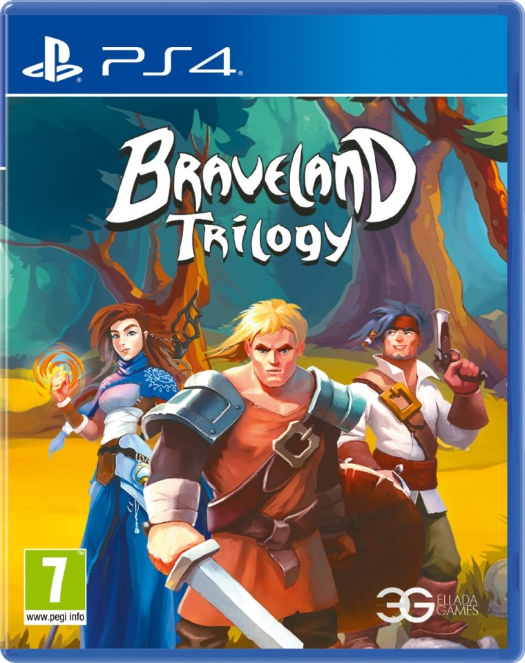 braveland trilogy physical retail release red art games playstaton 4 cover www.limitedgamenews.com