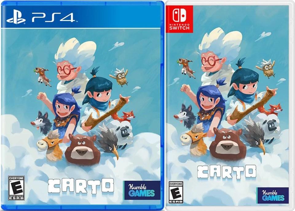carto physical retail release iam8bit playstation 4 nintendo switch cover www.limitedgamenews.com