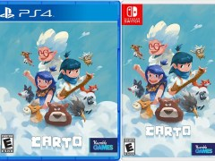 carto physical retail release iam8bit playstation 4 nintendo switch cover www.limitedgamenews.com