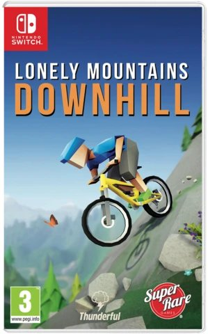 lonely mountains downhill physical retail release super rare games nintendo switch cover www.limitedgamenews.com