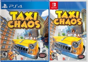 taxi chaos physical retail release gs2 games playstation 4 nintendo switch cover www.limitedgamenews.com