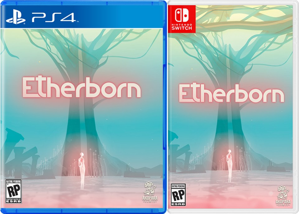 etherborn physical retail release standard edition iam8bit playstation 4 nintendo switch cover www.limitedgamenews.com