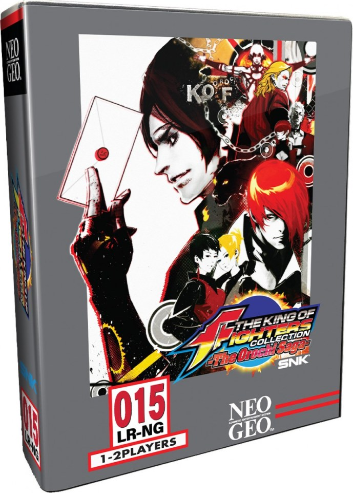 the king of fighters collection the orochi saga physical retail release collectors edition limited run games playstation 4 cover www.limitedgamenews.com