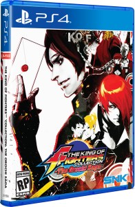 the king of fighters collection the orochi saga physical retail release standard edition limited run games playstation 4 cover www.limitedgamenews.com