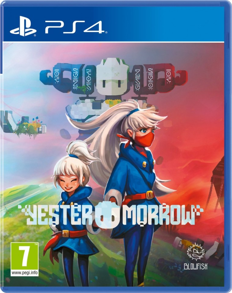yestermorrow physical retail release red art games playstation 4 cover www.limitedgamenews.com