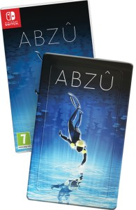 abzû physical retail release steelbook and standard release super rare games nintendo switch cover www.limitedgamenews.com